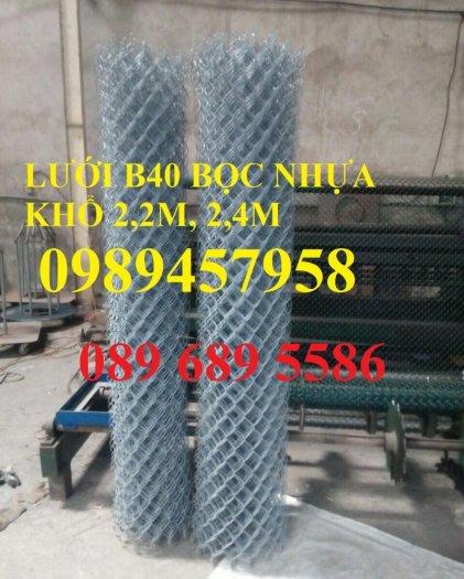 Lưới mắt cáo bọc nhựa, Lưới thép bọc nhựa ô 50x50, 60x60 khổ 1,8m, 2m, 2,2m và 2,4m2
