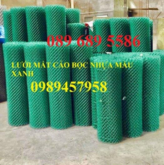 Lưới mắt cáo bọc nhựa, Lưới thép bọc nhựa ô 50x50, 60x60 khổ 1,8m, 2m, 2,2m và 2,4m0