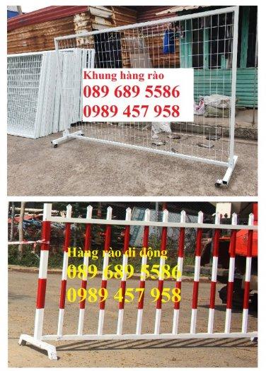 Gia công hàng rào cách ly, hàng rào barie có chốt, Hàng rào phân luồng giao thông2