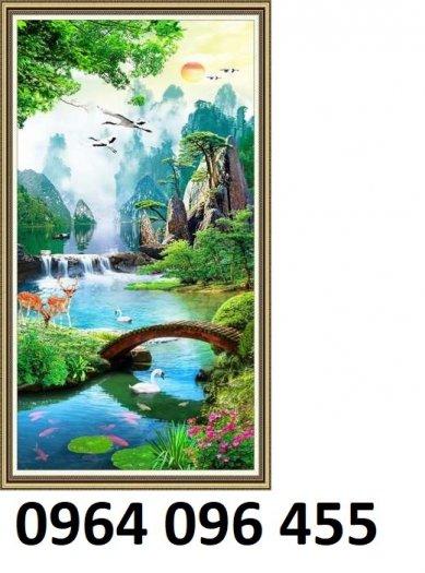 Tranh 3d - tranh gạch 3d trang trí - XLK89