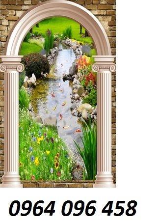 Tranh 3d - tranh gạch 3d trang trí - XLK88