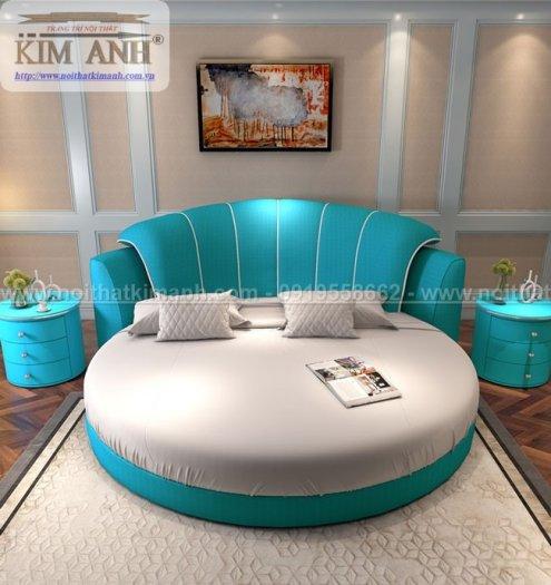 Giá giường tròn khách sạn, kích thước giường tròn công chúa tại cần thơ7