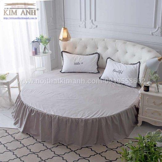 Giá giường tròn khách sạn, kích thước giường tròn công chúa tại cần thơ1