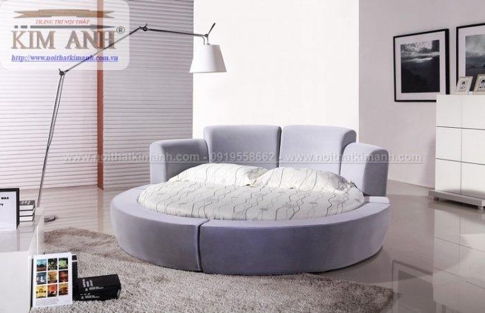 Giường tròn ngọc trinh, mẫu giường tròn cho bé gái sang chảnh sành điệu5