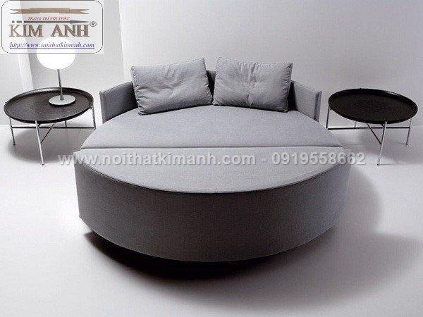 Giường tròn ngọc trinh, mẫu giường tròn cho bé gái sang chảnh sành điệu3