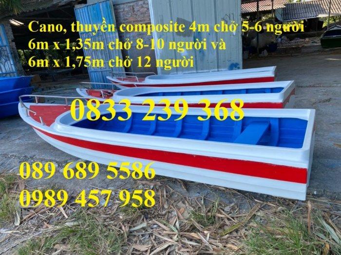 Thuyền composite chở 8-10 người, Thuyền chở 4-6 người có sẵn3