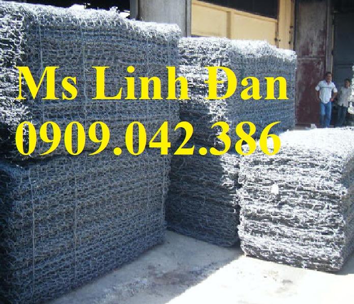 Sản xuất rọ đá mạ kẽm, sản xuất rọ đá bọc nhựa.10