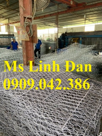 Sản xuất rọ đá mạ kẽm, sản xuất rọ đá bọc nhựa.1