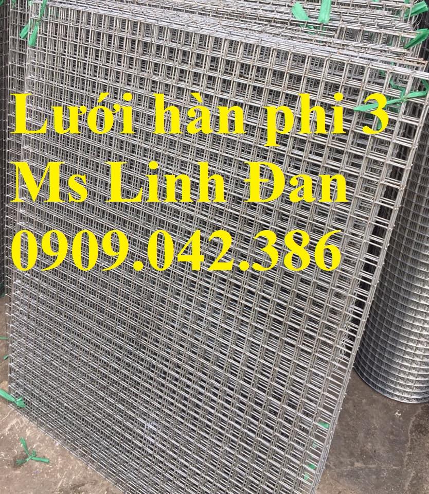 Lưới thép hàn sơn tĩnh điện d3 mắt 30x30, lưới thép hàn sơn tĩnh điện trắng14