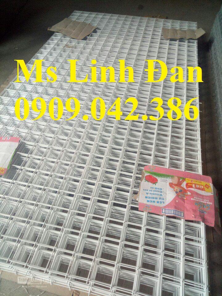Lưới thép hàn sơn tĩnh điện d3 mắt 30x30, lưới thép hàn sơn tĩnh điện trắng7