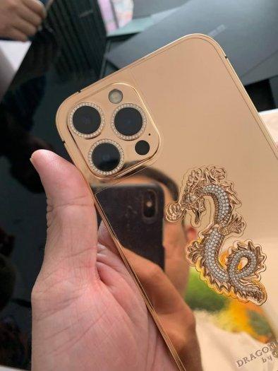 Golden Ace iphone 12 pro max vàng khối6
