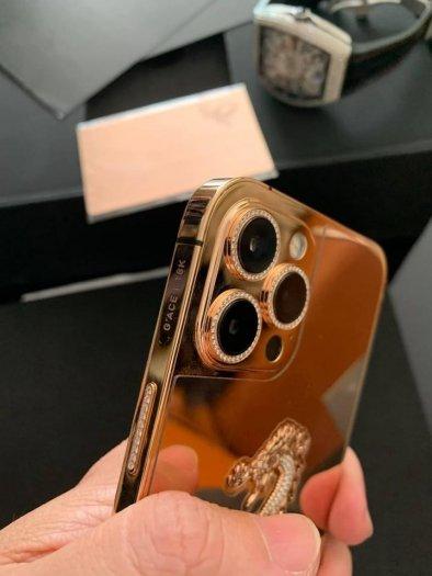 Golden Ace iphone 12 pro max vàng khối5
