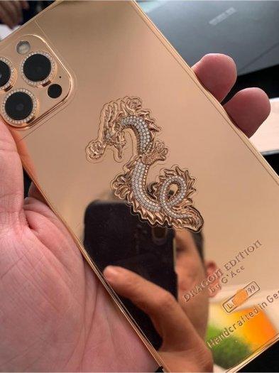 Golden Ace iphone 12 pro max vàng khối4