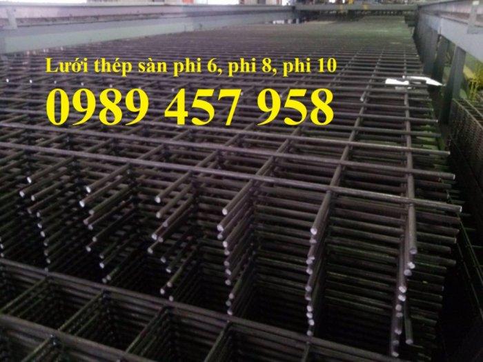 Nhà máy sản xuất Lưới hàn chập phi 5, lưới đổ bê tông phi 6 a 200*200, 250*2502