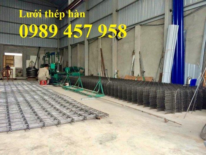 Sản xuất lưới hàn chập D8 a 150x150, 200x200, D8 a 250*250, D8 300*3003