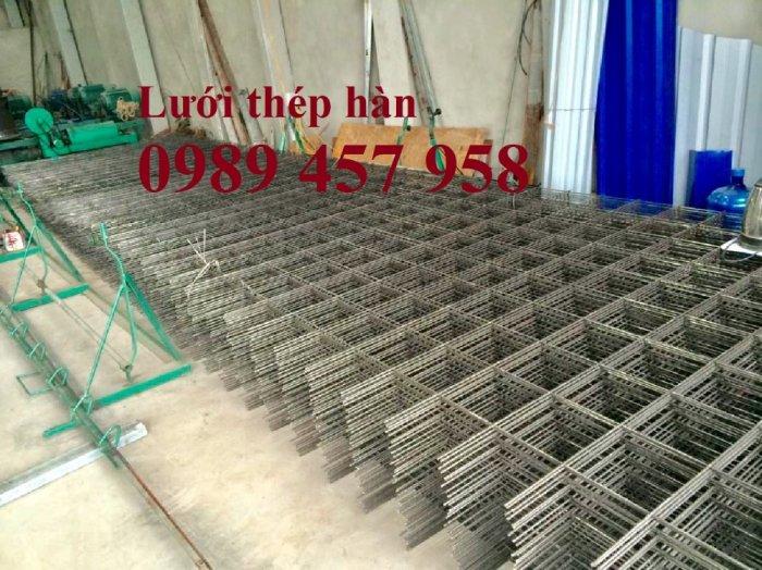 Sản xuất lưới hàn chập D8 a 150x150, 200x200, D8 a 250*250, D8 300*3002