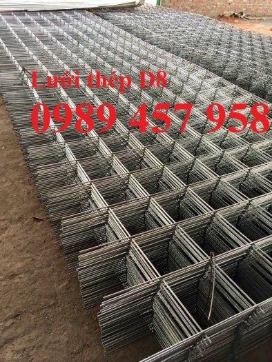 Sản xuất lưới hàn chập D8 a 150x150, 200x200, D8 a 250*250, D8 300*3001