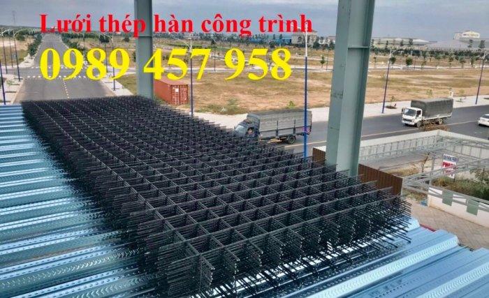 Lưới thép hàn phi 12 a 200*200, 250*250, 300*300 - Lưới hàn chập phi 12 giá tốt0