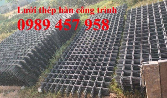 Chuyên Lưới thép hàn phi 6 150*150 và Phi 6 a 200*200 đổ bê tông chống nứt5