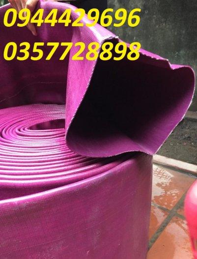 Ống bạt tải nước tải cát - ống bạt cốt dù - ống bạt xanh1