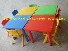 Bàn ghế cho trẻ6