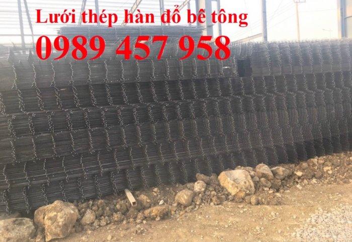 Cung cấp Lưới thép hàn chập phi 8 200*200, Lưới thép A8 200*200, Lưới D8 200*2004