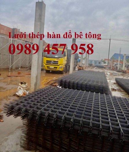 Cung cấp Lưới thép hàn chập phi 8 200*200, Lưới thép A8 200*200, Lưới D8 200*2000