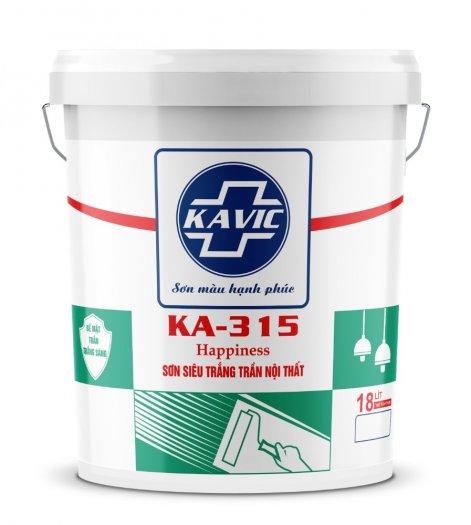 Sơn Kavic siêu trắng trần nội thất KA-3153