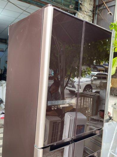 Tủ lạnh nội địa Nhật HITACHI R-C4800 mặt gương 475L hút chân không cao cấp10