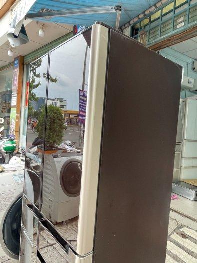 Tủ lạnh nội địa Nhật HITACHI R-C4800 mặt gương 475L hút chân không cao cấp8