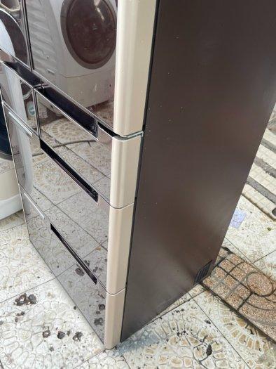 Tủ lạnh nội địa Nhật HITACHI R-C4800 mặt gương 475L hút chân không cao cấp7