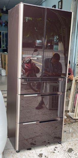 Tủ lạnh nội địa Nhật HITACHI R-C4800 mặt gương 475L hút chân không cao cấp5