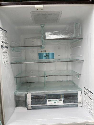 Tủ lạnh nội địa Nhật HITACHI R-C4800 mặt gương 475L hút chân không cao cấp3