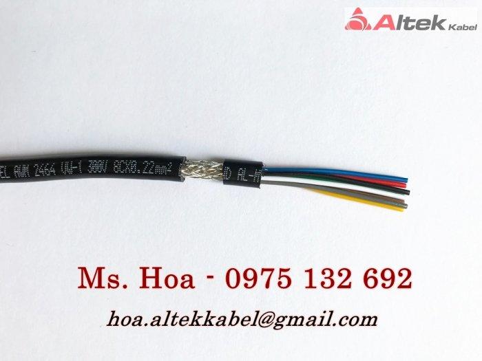 Cáp tín hiệu âm thanh 2x0.22mm2/Cáp tín hiệu chống nhiễu4