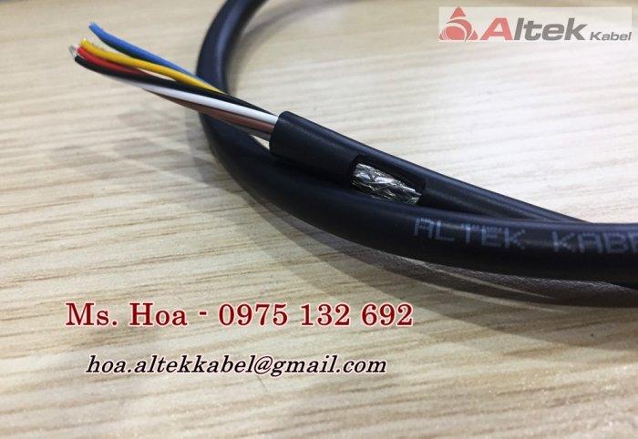 Cáp tín hiệu âm thanh 2x0.22mm2/Cáp tín hiệu chống nhiễu0