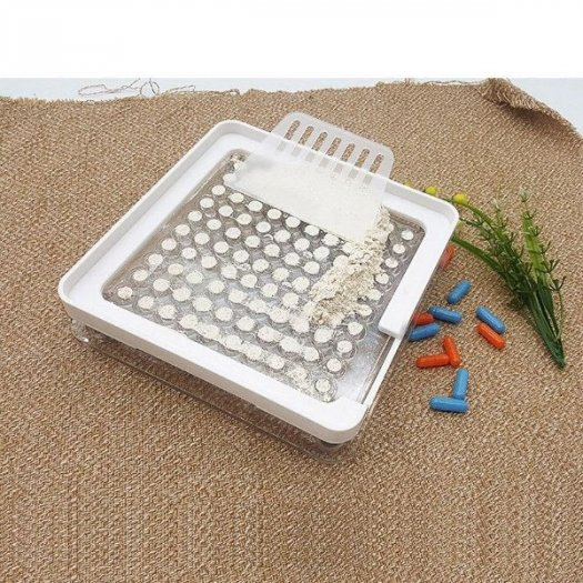 Khuôn đóng viên nang cứng giá rẻ, khuôn đóng viên nhộng 100v bằng nhựa2