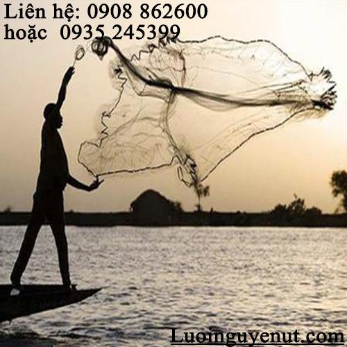 Chài quăng bắt cá Nguyễn Út2