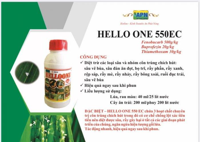 Thuốc trừ rầy rệp sâu HELLO ONE 550 EC0