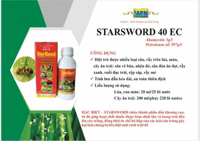 Thuốc trừ sâu rầy rệp nhện Starsword 40ec0