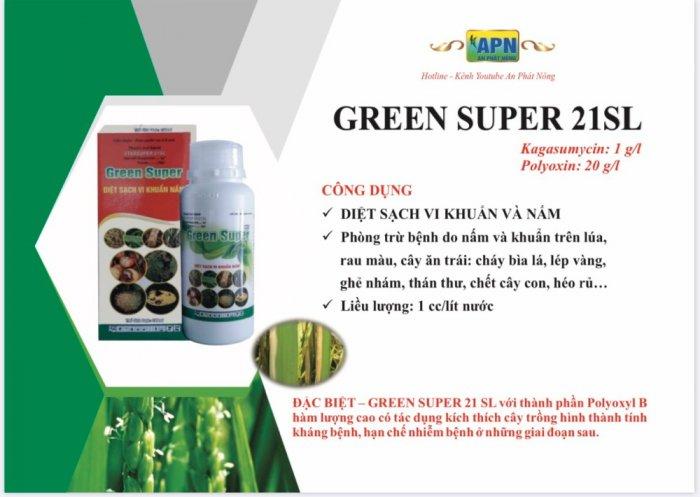 Thuốc trừ nấm khuẩn cây trồng  greensuper0