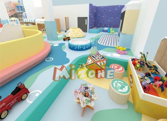 Lắp đặt khu vui chơi,thiết kế thi công trọn gói khu vui chơi trong nhà1