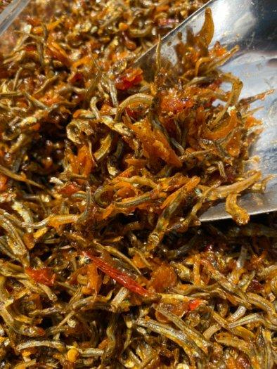 250gr Cá cơm sữa rim tỏi ớt truyền thống thơm ngon2