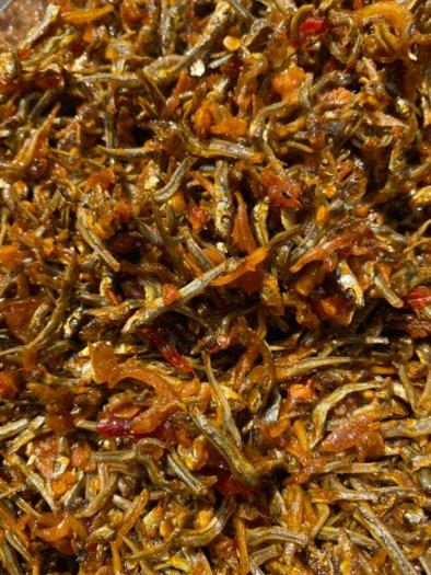 250gr Cá cơm sữa rim tỏi ớt truyền thống thơm ngon1