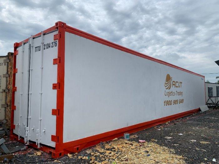 Container lạnh 40feet chạy hàng thực phẩm nhập khẩu2