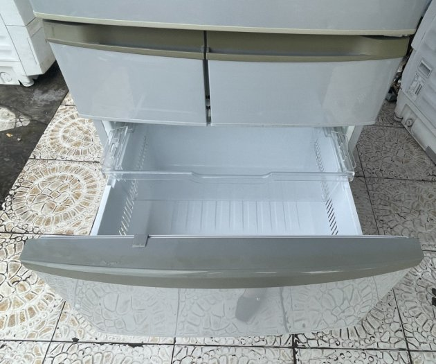 Tủ lạnh nội địa Nhật PANASONIC NR-ETR435 426Lít, 5 cánh, date 20112