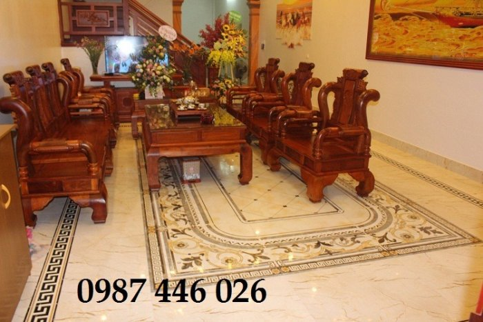 Thảm gạch sàn nhà, gạch trang trí khổ lớn HP016612