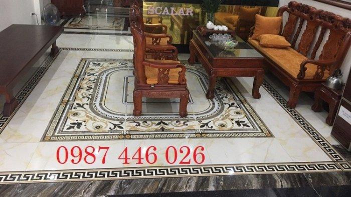 Thảm gạch sàn nhà, gạch trang trí khổ lớn HP016610