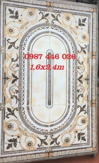 Thảm gạch sàn nhà, gạch trang trí khổ lớn HP01663