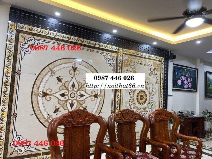 Thảm gạch sàn nhà, gạch trang trí khổ lớn HP01662