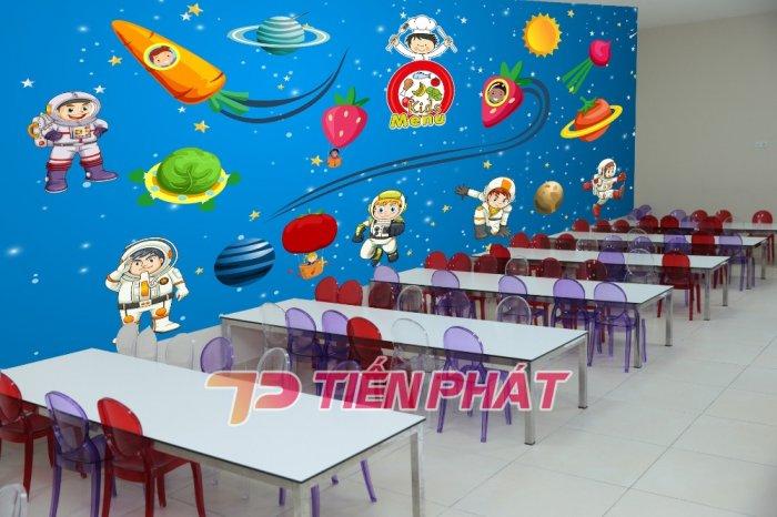 Tranh Dán Tường 3D Cho Trẻ Em Công Chúa Elsa TTE8011- Chất Liệu: PP Kim Sa Cao Cấp- Kích Thước: Khổ 1.25mx 1m14